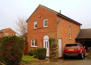 Thumbnail 3 bed link-detached house to rent in Quantock Crescent, Emerson Valley, Milton Keynes