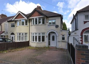 Thumbnail 3 bed semi-detached house for sale in Stourbridge Road, Dudley, Dudley