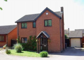 Thumbnail 4 bed detached house to rent in Whaddon Close, West Hunsbury, Northampton
