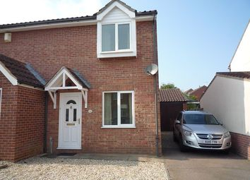 Thumbnail 2 bed semi-detached house to rent in Peddars Way, Thorpe Marriott, Norwich
