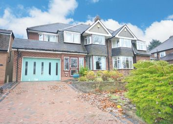 Thumbnail 4 bed semi-detached house for sale in Streetsbrook Road, Solihull