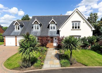 Thumbnail 4 bed detached house for sale in Parrs Wood View, Grappenhall, Warrington