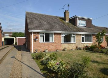 Thumbnail 2 bed semi-detached bungalow for sale in Cawood Close, Skirlaugh, East Yorkshire