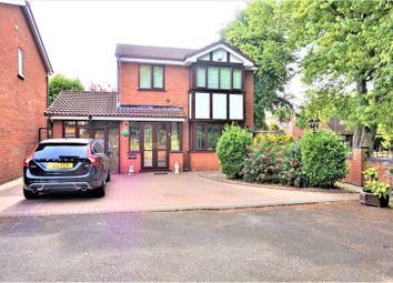Thumbnail 4 bed detached house for sale in Taryn Drive, Wednesbury