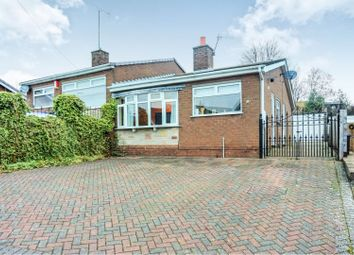 Thumbnail 2 bed semi-detached bungalow for sale in Churchill Avenue, Cheddleton