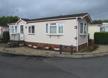 Thumbnail 1 bed mobile/park home for sale in Mytchett Farm Park (Ref 5697), Mytchett, Surrey