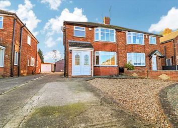 3 bed semi-detached house for sale in Hunt Lea Avenue, Lincoln LN6