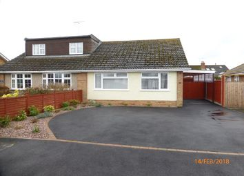 Thumbnail 2 bed semi-detached bungalow to rent in Hardy Road, Bishops Cleeve, Cheltenham