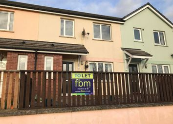 Thumbnail 3 bed semi-detached house to rent in Laugharne Close, Pembroke, Pembrokeshire