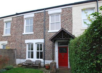 Thumbnail 4 bed terraced house for sale in Elsdon Road, Gosforth, Newcastle Upon Tyne