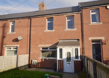 Thumbnail 2 bed terraced house to rent in Edward Street, Craghead, County Durham