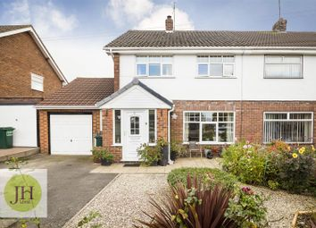 Thumbnail 3 bed semi-detached house for sale in Barkhill Road, Vicars Cross, Chester