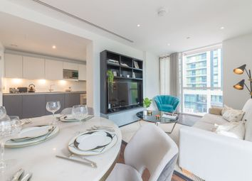 Thumbnail 2 bedroom flat to rent in Maine Tower, 9 Harbour Central, London