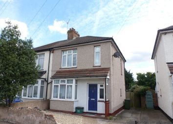 Thumbnail 3 bed semi-detached house to rent in Lincoln Road, Erith