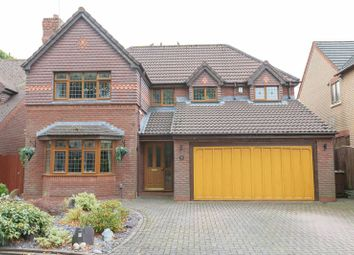 Thumbnail 4 bed detached house for sale in Chilton Close, Maghull, Liverpool
