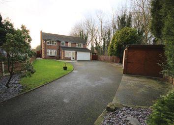 Thumbnail 4 bed detached house for sale in Ellesmere Road, Eccles, Manchester
