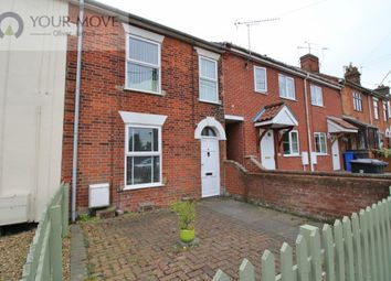 Thumbnail 2 bed terraced house for sale in Fair Close, Beccles