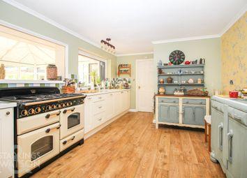 Thumbnail 5 bed detached house for sale in Elderton Lane, Antingham, North Walsham
