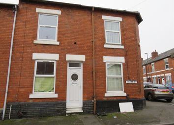 Thumbnail 3 bedroom end terrace house for sale in Thorn Street, New Normanton, Derby
