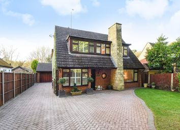 Thumbnail 4 bed detached house for sale in Finchampstead, Berkshire