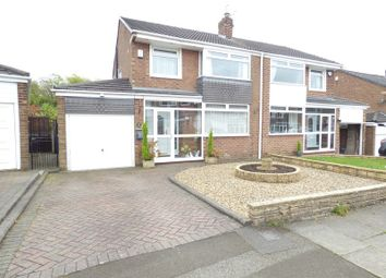Thumbnail 3 bed semi-detached house to rent in Southern Close, Denton, Manchester