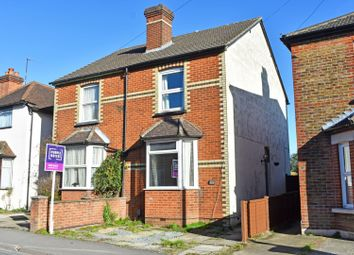 Thumbnail 2 bed semi-detached house for sale in Manor Road, Guildford