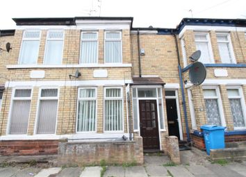 Thumbnail 1 bed terraced house for sale in Hardy Street, Hull
