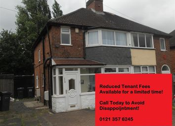 Thumbnail 3 bed semi-detached house to rent in Dyas Avenue, Great Barr, Birmingham