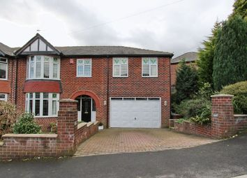 Thumbnail 5 bedroom semi-detached house for sale in Woodhill Grove, Prestwich, Manchester