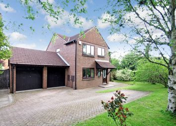 Thumbnail 4 bed detached house for sale in Lakeside Drive, Monkspath, Solihull