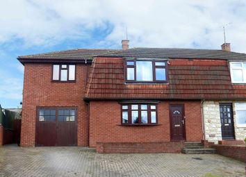 Thumbnail 5 bed semi-detached house for sale in Dulas Avenue, Redhill, Hereford
