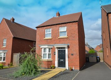 Thumbnail 3 bed detached house for sale in Plantain Way, Coton Park, Rugby