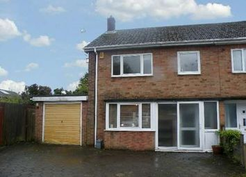 Thumbnail 3 bed semi-detached house to rent in Edinburgh Avenue, Werrington, Peterborough