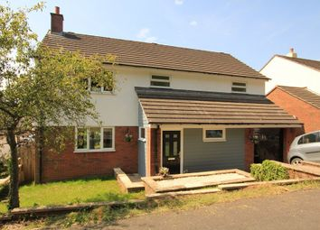 Thumbnail 4 bed detached house for sale in Bunting Close, Newton Abbot