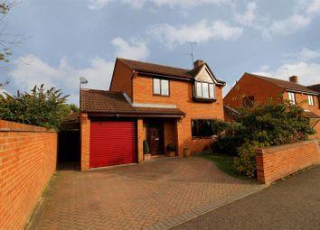 Thumbnail 4 bed detached house for sale in Baron Court, Werrington, Peterborough