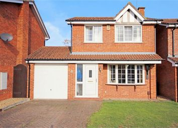 Thumbnail 3 bed detached house for sale in Crowberry Avenue, Moulton, Northampton