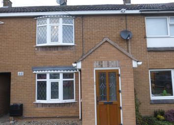 Thumbnail 2 bed terraced house to rent in Brookes Avenue, Croft, Leicester