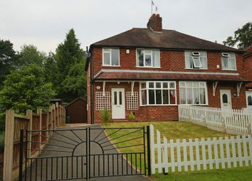 Thumbnail 3 bed semi-detached house for sale in Walkmill Road, Market Drayton