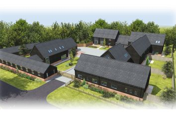 Thumbnail 3 bed detached house for sale in Church Farm Court, Roxton