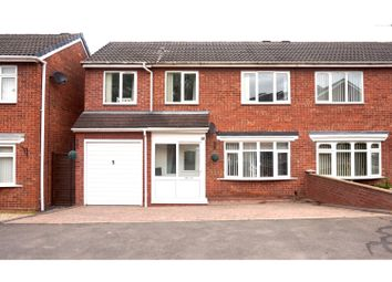 Thumbnail 4 bed semi-detached house for sale in Temple Way, Coleshill