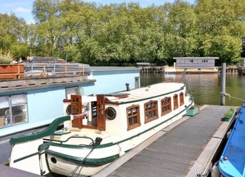 Thumbnail 1 bed houseboat for sale in Lower Teddington Road, Burgoine Quay, Kingston Upon Thames