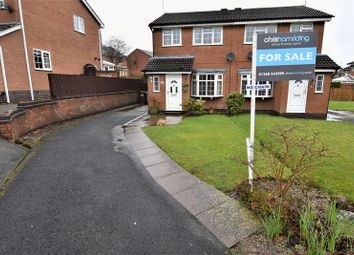 Thumbnail 3 bed semi-detached house for sale in Thames Close, Congleton