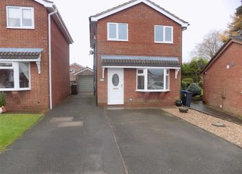 Thumbnail 3 bed detached house to rent in Nicholson Way, Leek, Staffordshire