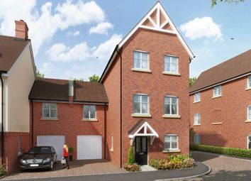 "Thumbnail 4 bedroom terraced house for sale in ""The Lambton"" at The Ridgeway, Enfield"