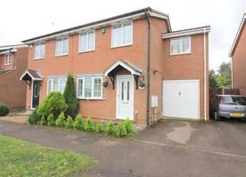 Thumbnail 3 bedroom semi-detached house for sale in Rochford Drive, Luton, Bedfordshire