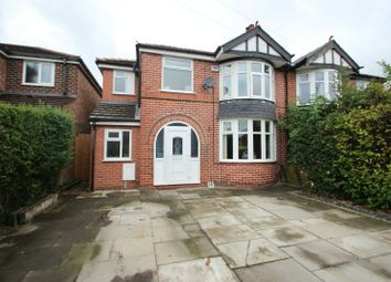 Thumbnail 3 bed semi-detached house for sale in Hartford Road, Sale