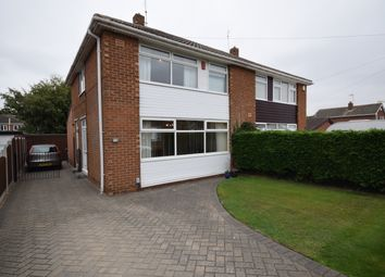 Thumbnail 3 bed semi-detached house for sale in Badsworth Road, Warmsworth, Doncaster