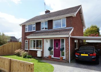 Thumbnail 4 bed detached house for sale in Andrews Close, Chester