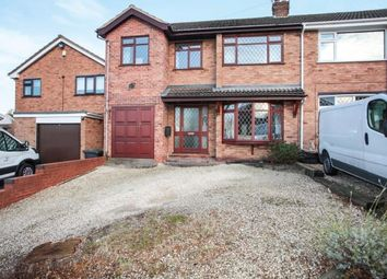 Thumbnail 4 bedroom semi-detached house for sale in Berwyn Way, Nuneaton, Warwickshire, .