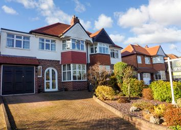 Thumbnail 4 bed semi-detached house for sale in Maxstoke Road, Sutton Coldfield